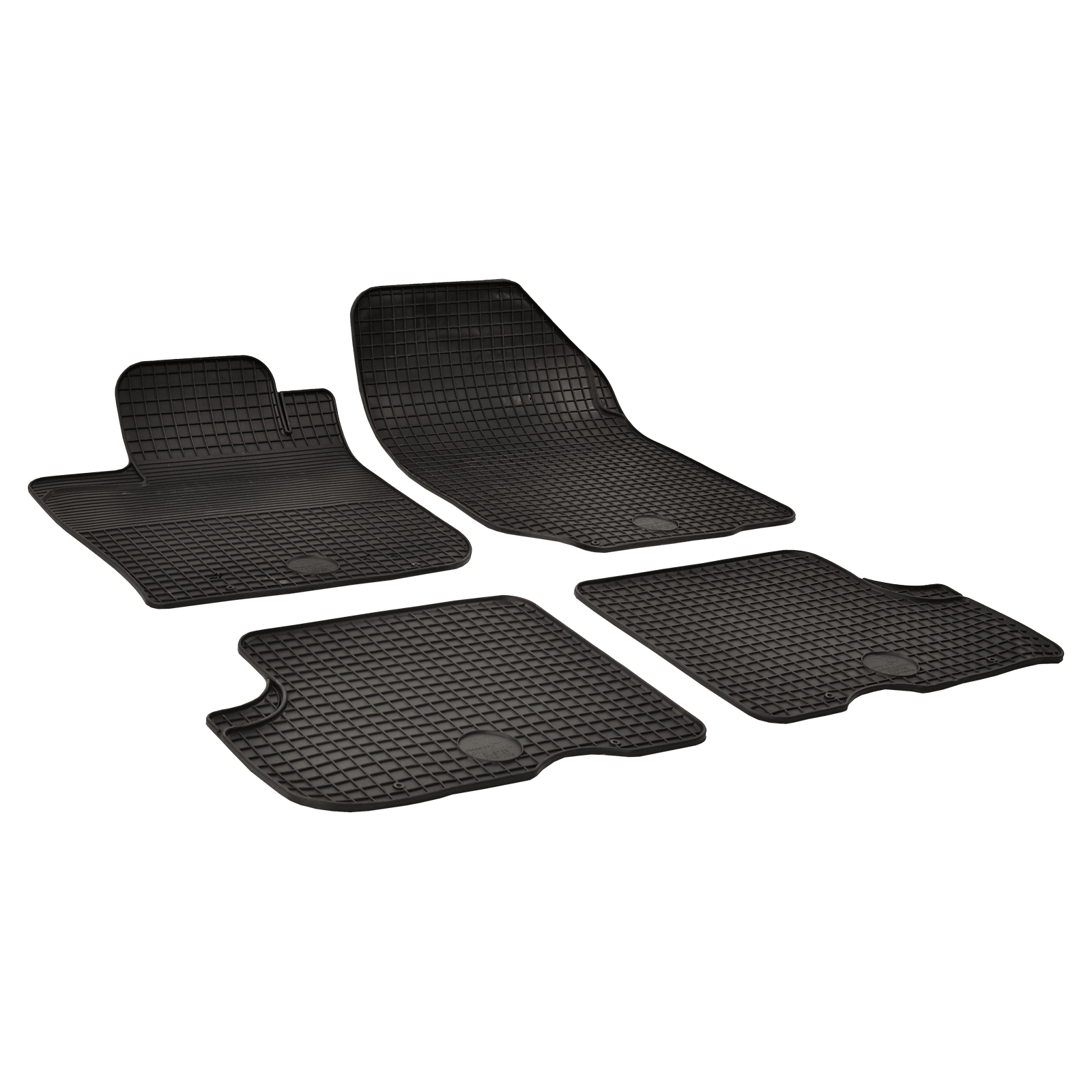 tapis de sol en caoutchouc anthracite pour dacia duster bj. Black Bedroom Furniture Sets. Home Design Ideas
