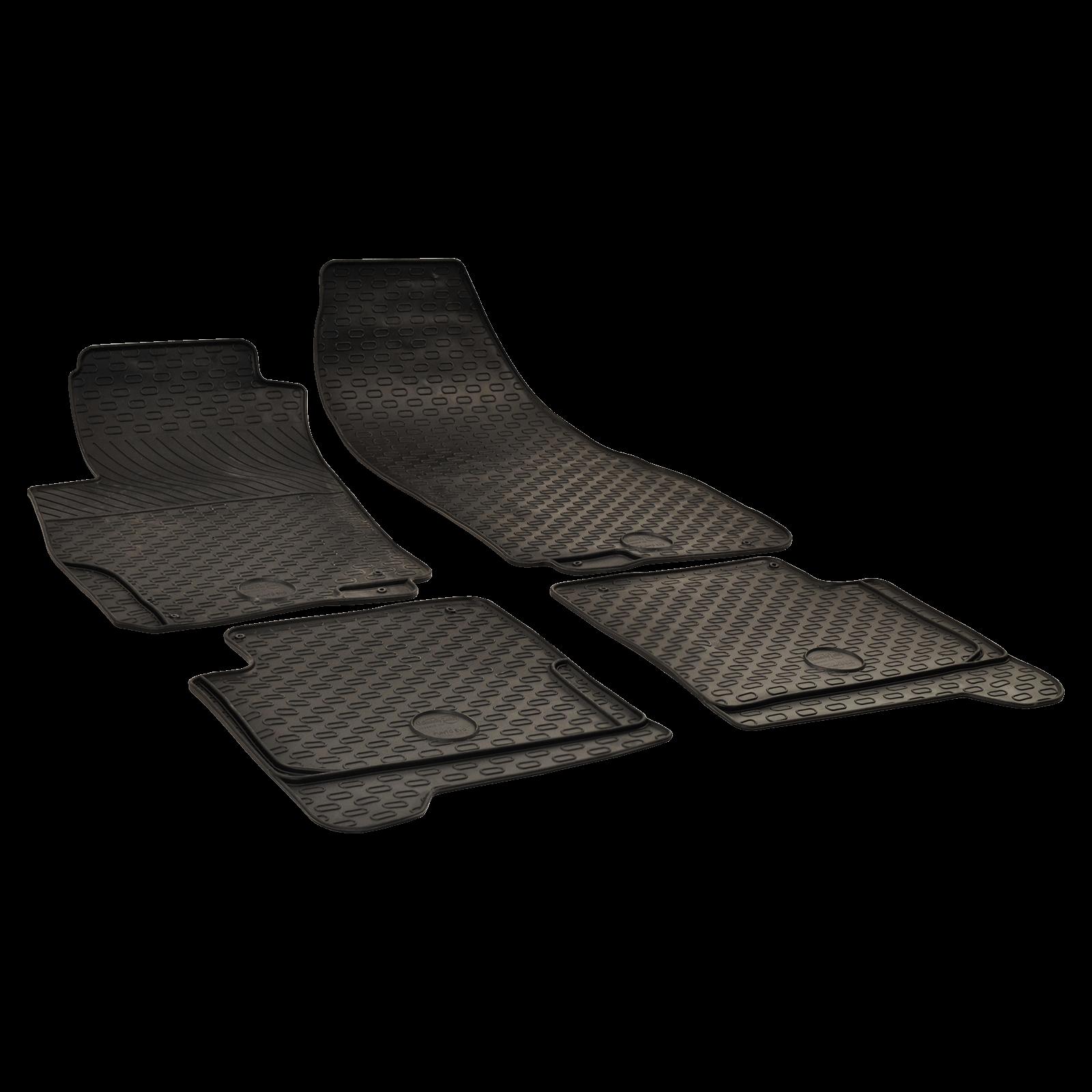 tapis de sol en caoutchouc anthracite pour fiat punto evo bj. Black Bedroom Furniture Sets. Home Design Ideas