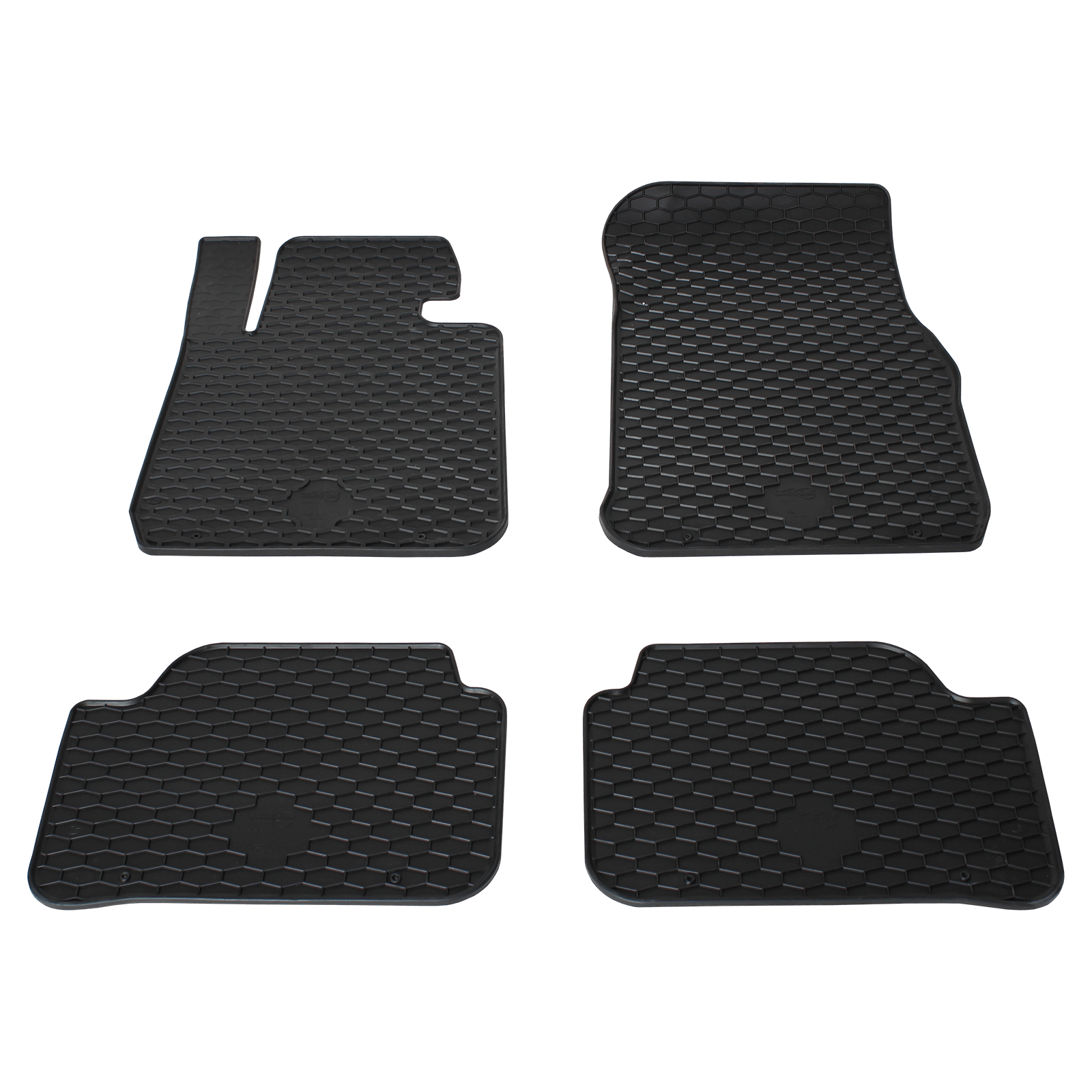 tapis de sol en caoutchouc noir pour bmw 1 bj. Black Bedroom Furniture Sets. Home Design Ideas