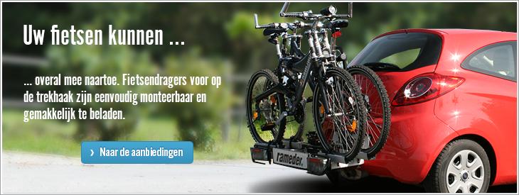 Uw fietsen kunnen overal mee naartoe.